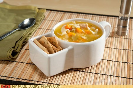 bowl ceramic compartments crackers dishes soup - 5649461760
