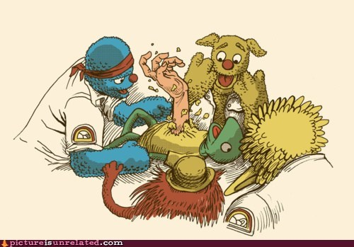 alien,chest burster,muppets,space,wtf
