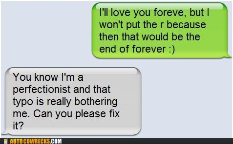 dating forever grammar nazi love perfectionist pickup line relationships - 5649657088