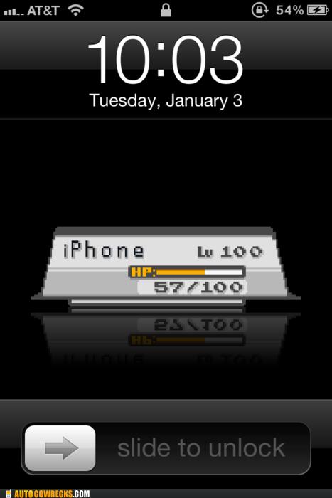 background battery battery life hp level Pokémon screen lock wallpaper - 5649686784