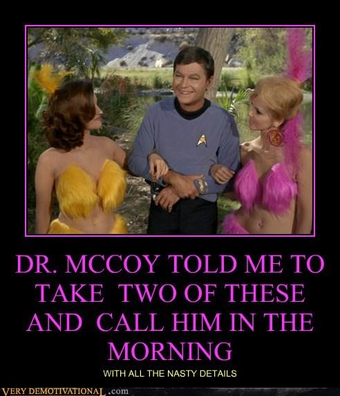 dr-mccoy hilarious Sexy Ladies Star Trek wtf - 5649836800