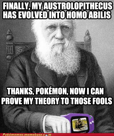 Darwin evolution meme Memes proof - 5650016768