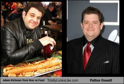 actor,adam richman,celeb,funny,Hall of Fame,Patton Oswalt,TLL