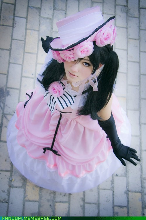 black butler Ciel Phantomhive cosplay Kuroshitsuji - 5650359040