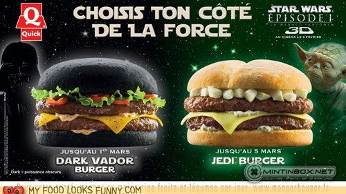 black burgers darth vader france green star wars yoda - 5650428160