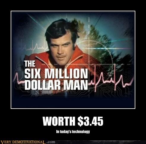 3.45 6 million dollar man hilarious modern - 5650470656