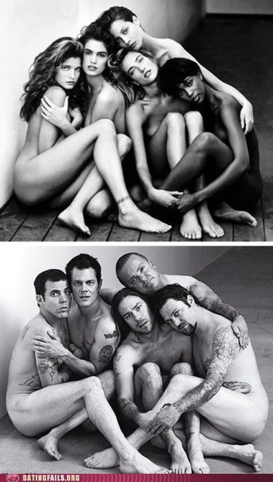black and white dating double standard Hall of Fame jackass men and women photo op posing - 5651195136