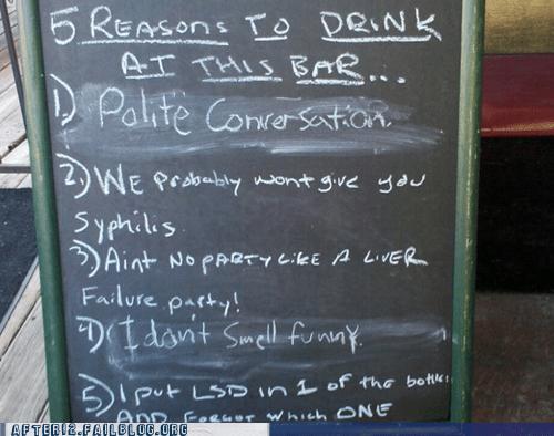 bar drugs lsd pub sign syphilis - 5651400704