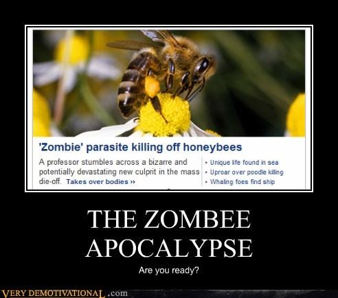 apocalypse bee hilarious ready zombie - 5651596544