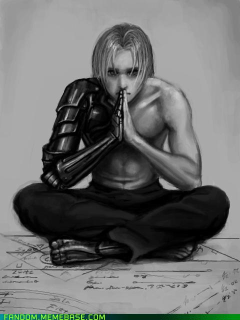 edward elric Fan Art fullmetal alchemist manga - 5651675904