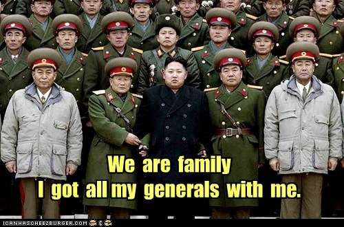 kim jong-un military North Korea political politics Pundit Kitchen we are family