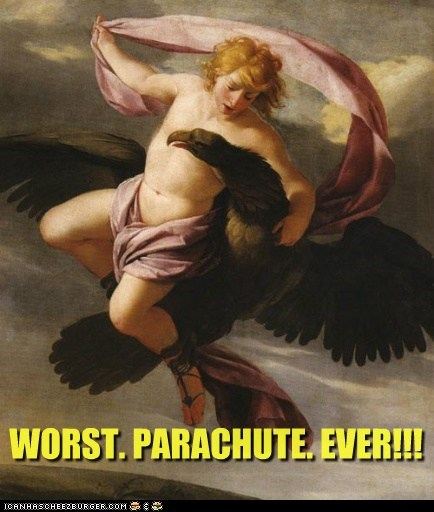 art bird historic lols human painting parachute