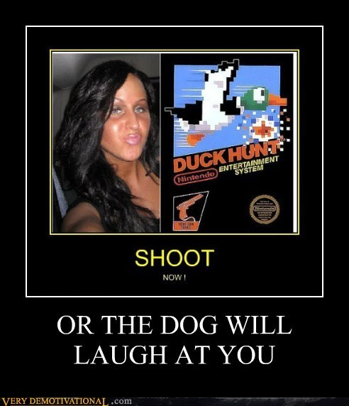dogs duck face duck hunt hilarious wtf - 5652314112