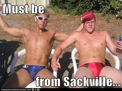 Must be  from Sackville...