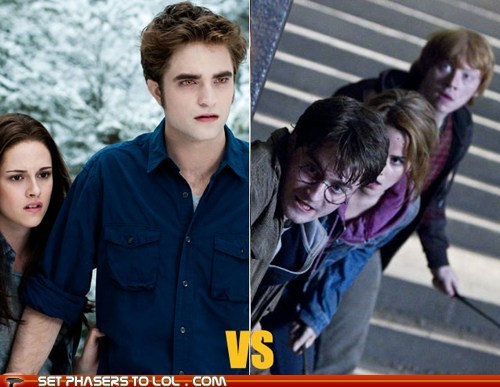 around the interwebs Harry Potter poll the fw twilight - 5653626368
