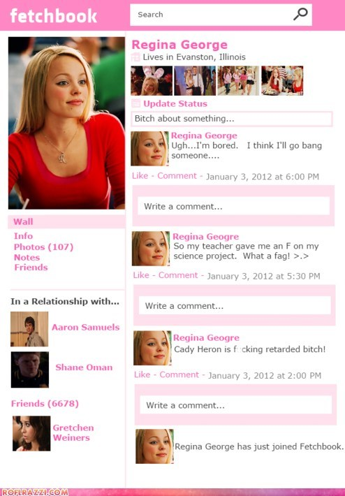 actor celeb funny mean girls Movie rachel mcadams - 5653659648