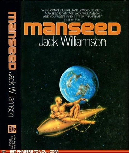 book cover books cover art man science ficiton seed wtf - 5653761792