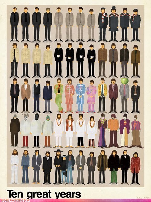 art celeb cool funny Music the Beatles - 5653954304