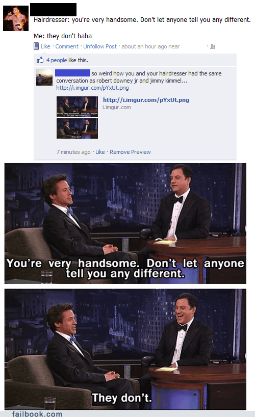 busted jimmy kimmel plagiarism robert downey jr
