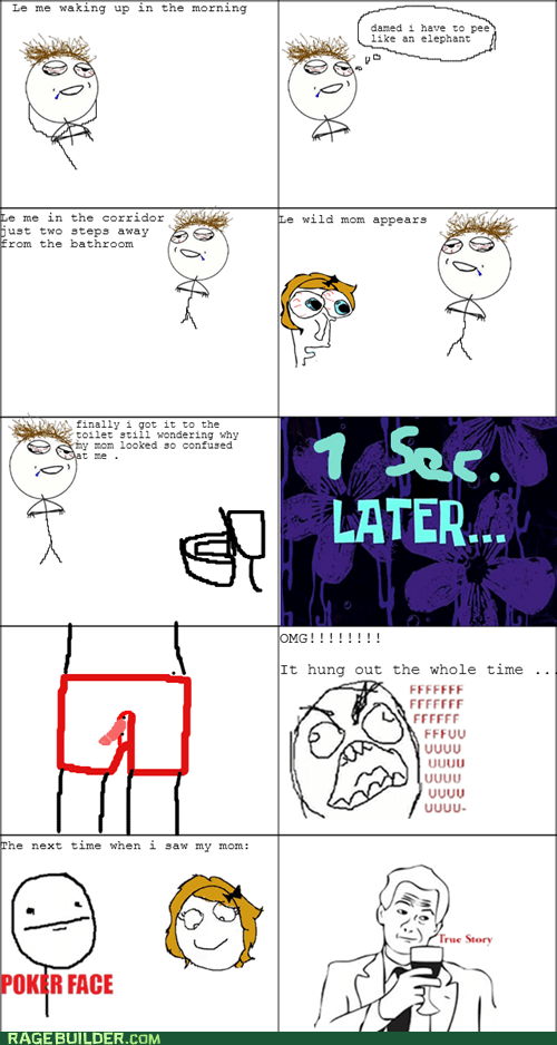 Awkward parents peetimes Rage Comics - 5654317824