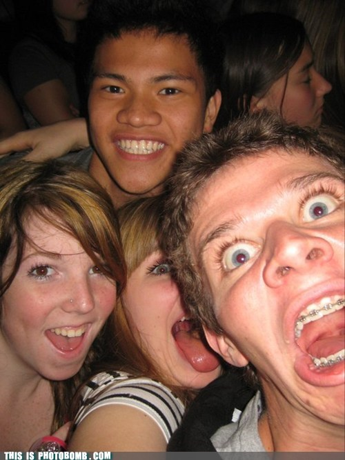 Awkward braces not cute photobomb seal teens - 5654319360