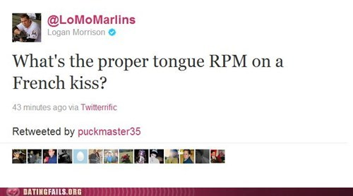 french kissing,Logan Morrison,rpm,twitter