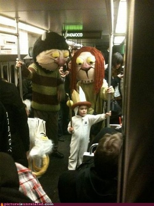 bus,Subway,where the wild things are,wtf