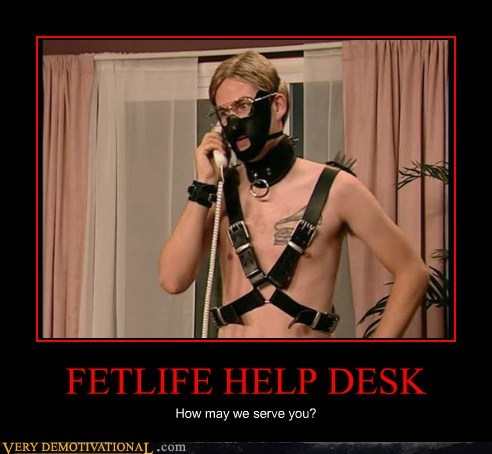 FETLIFE HELP DESK How may we serve you?