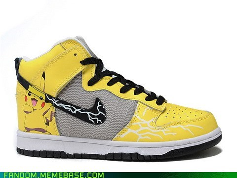 best of week cute It Came From the Interwebz pikachu shoes - 5654896640