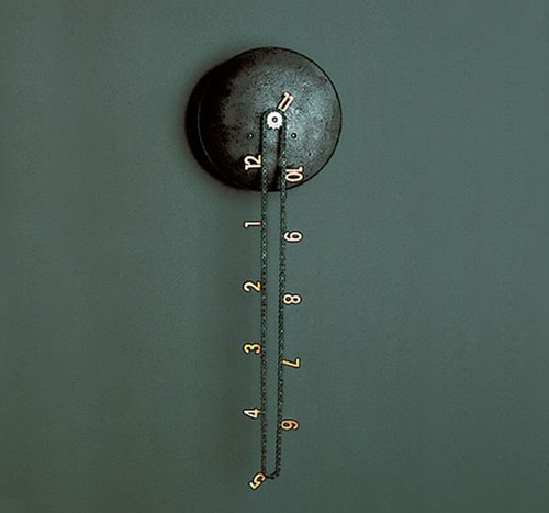 chain clever clock design Hall of Fame time - 5654957056