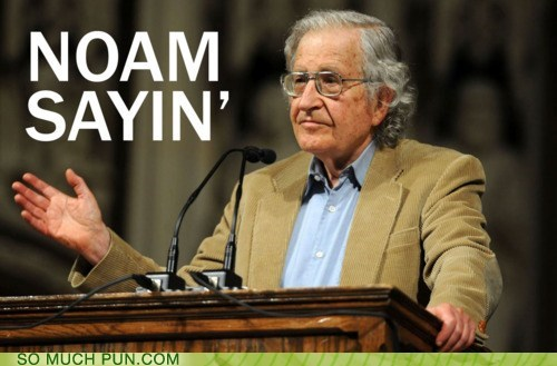 colloquialism Hall of Fame lolwut nam-sayin noam chomsky similar sounding slang vernacular - 5654964224