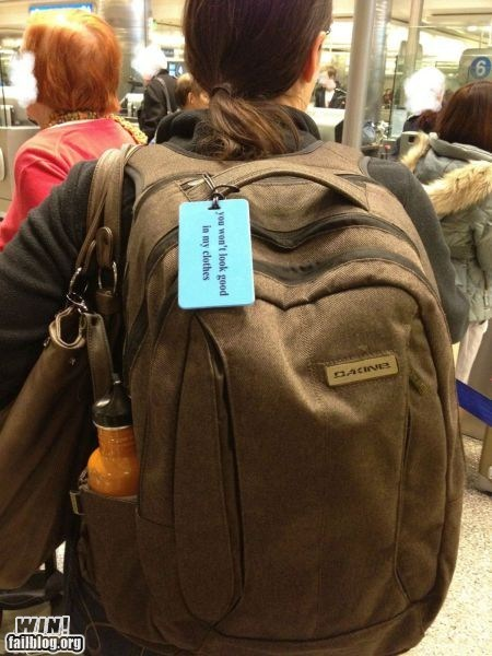 anti-theft backpack clever clothes clothing fashion tag theft thief - 5655005440