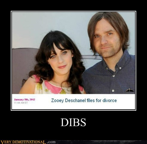 dibs divorce hilarious zooey deschanel - 5655141632