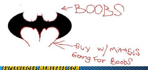 batman best of week bewbs mittens Super-Lols symbol wtf - 5655376640