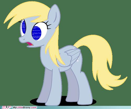 blue screen of death derpy error muffins ponies - 5655522304