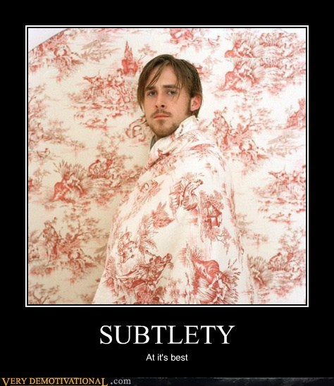 bathrobe,hilarious,Ryan Gosling,subtlety,wall paper