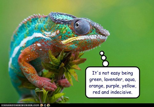aqua,being,best of the week,caption,captioned,chameleon,colors,easy,green,indecisive,kermit,lavender,lizard,not,orange,purple,red,song,the muppets,yellow