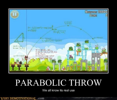 angry birds hilarious parabolic throw video games