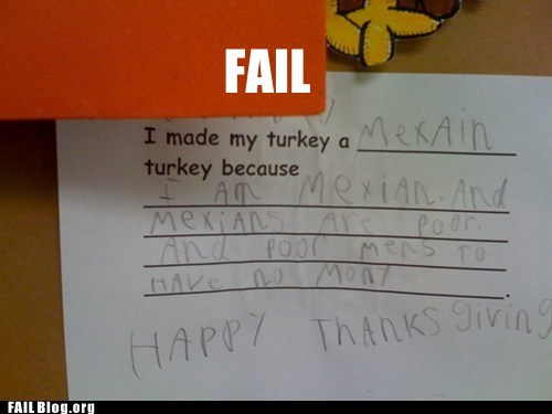 thanksgiving,thats-racist-wtf
