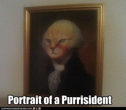 Portrait of a Purrisident