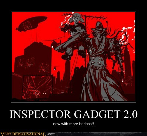 2.0 art inspector gadget Pure Awesome