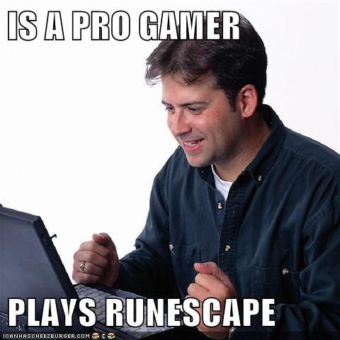 IS A PRO GAMER PLAYS RUNESCAPE