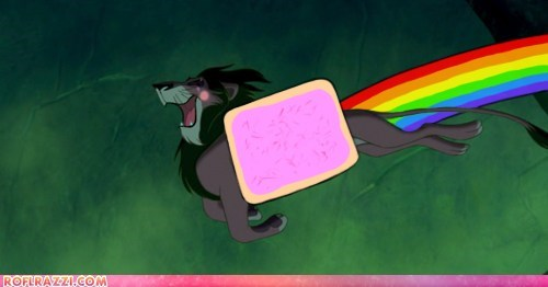 animation disney funny meme Nyan Cat scar the lion king - 5658141440