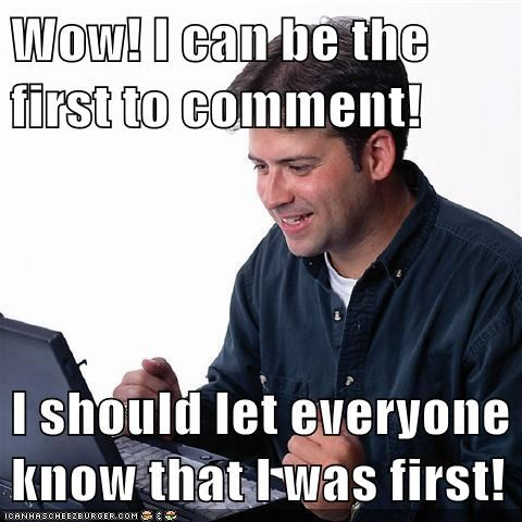 comment first moderation Net Noob