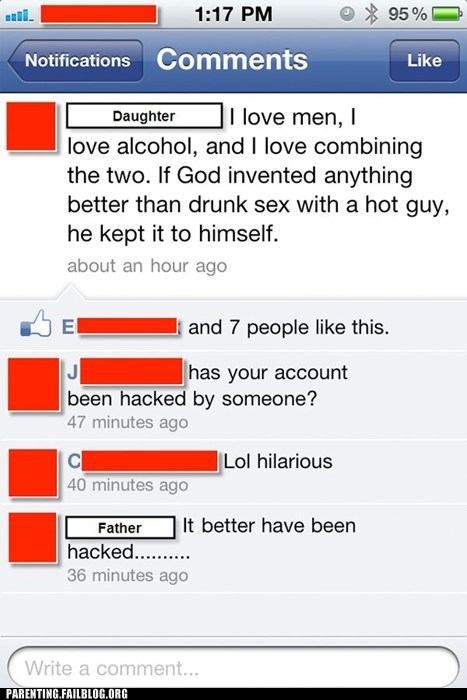 busted caught facebook Parenting Fail smart phone text whoops - 5658613504
