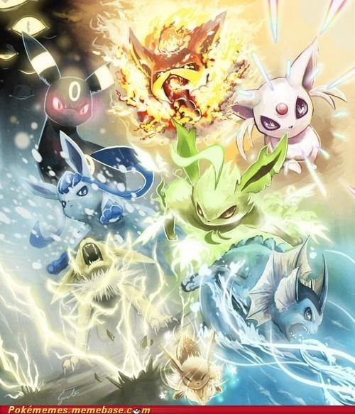 art awesome best of week eevee eeveelutions epic - 5658803456
