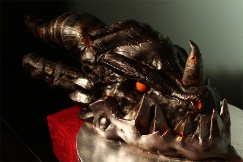 cake deathwing Fan Art video games world of warcraft WoW