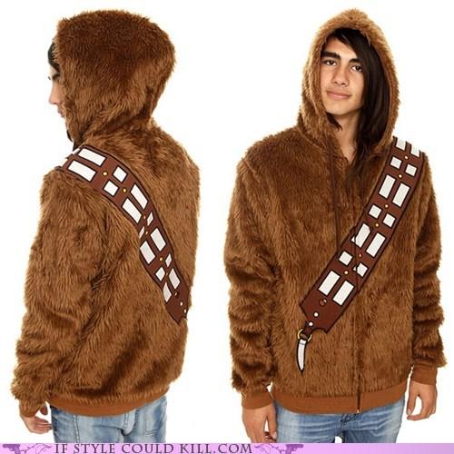 chewbacca,cool accessories,geek chic,star wars