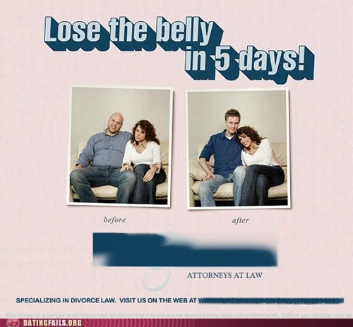 Ad chubby divorce husband weight loss - 5659426560