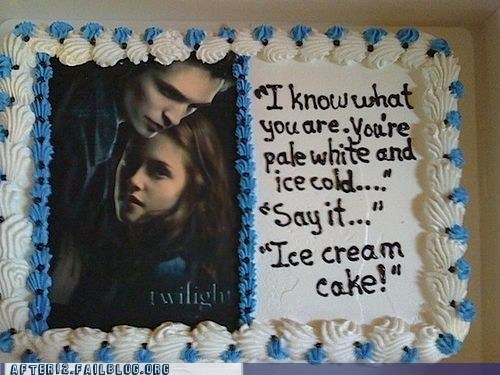after 12 bella cake edward food g rated ice cream Party twilight - 5659535616